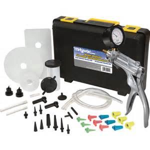 Automotive Brake Bleeding Systems Mityvac Automotive Testing And Brake Bleeding Kit Brake