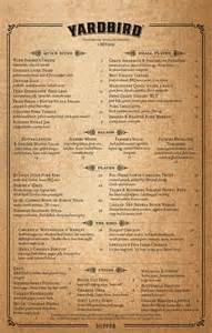 yardbird southern table bar menu urbanspoon zomato