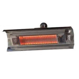 Electric Infrared Patio Heater Sense 1 500 Watt Stainless Steel Wall Mounted Infrared Electric Patio Heater 02110 The