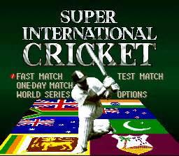 play super international cricket nintendo super nes online
