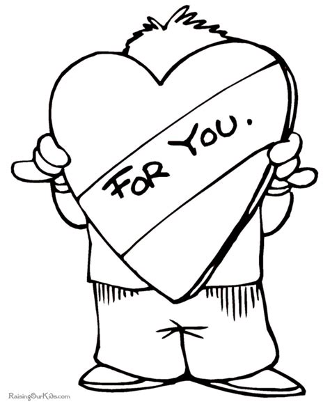 Valentines Day Coloring Pages For Preschool free coloring pages of kindergarten s day