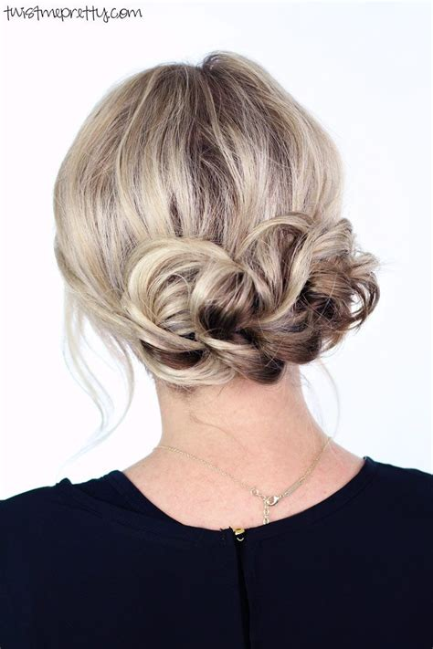 17 best ideas about easy updo tutorial on easy updo buns for hair and chignon