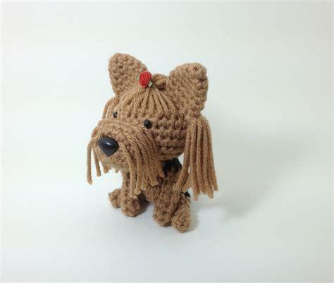 knitting pattern yorkshire terrier yorkshire terrier amigurumi dog yorkie handmade stuffed