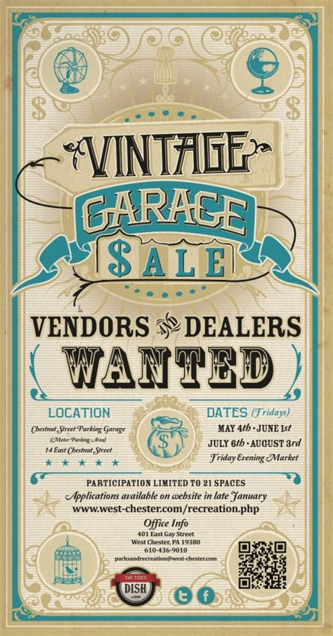 Vintage Garage Sale by West Chester Parks And Recreation Announces Newest Summer