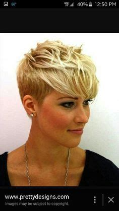 ruffled pixie hair cut love this cut super short in back stacked on top