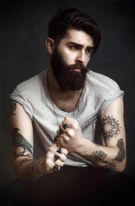 guapos hombres  barba  son los mas sexys del mundo