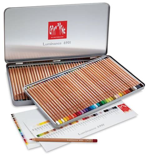 caran d ache colored pencils caran dache luminance colored pencils colored pencils
