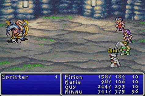 final fantasy: dawn of souls for gba screen shots page