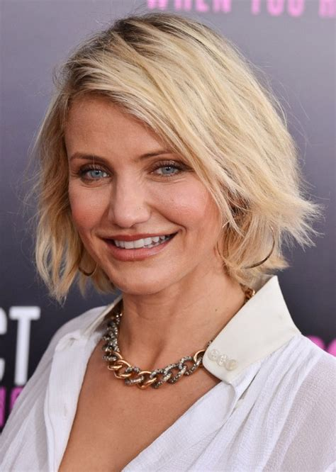 bobs for women over 40 best short bob hairstyles for women over 40 cameron diaz