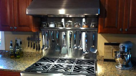 Kitchen Backsplash for Counter Tops. Copper, Stainless and