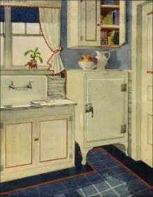 1920s Kitchen Design by 1920s Kitchen On 1920s Kitchen Hoosier