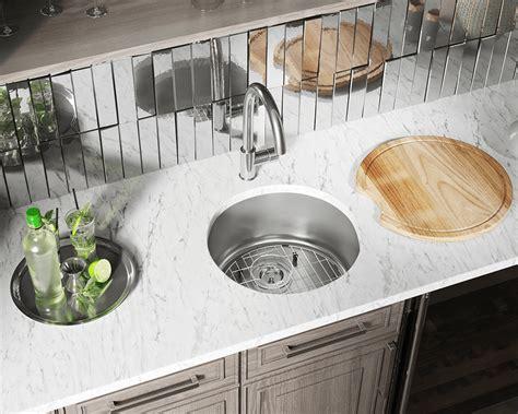stainless steel bar sink 465 circular stainless steel bar sink
