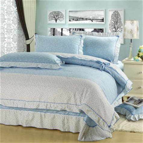 baby blue bedding sets 4 piece wonderful light blue bedding sets with lace