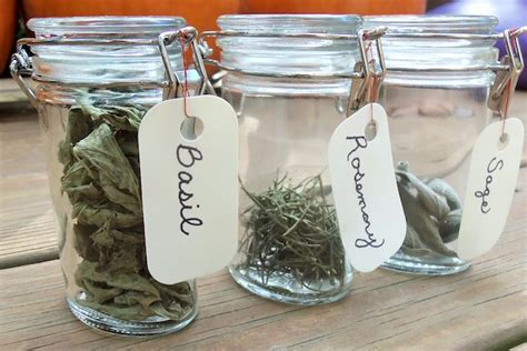 Herb And Spice Containers Heartfelt Holidays Dried Herbs In Jars How To It All