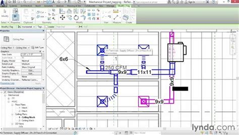 tutorial hvac design tagging duct