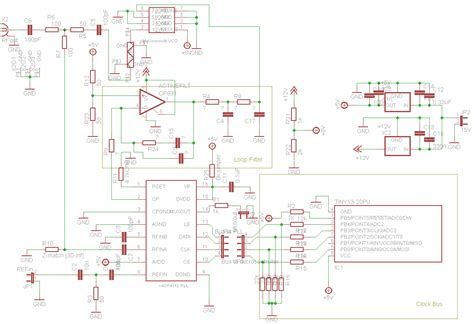 frequency synthesizer circuit diagram 1 5 ghz pll frequency synthesizer