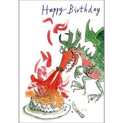 Ocado Gift Card - quentin blake dragon birthday card from ocado