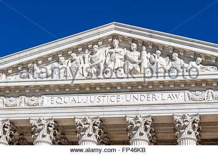 main frieze of the us supreme court building. washington