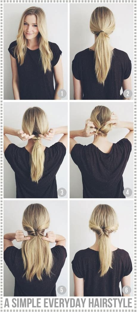6 easy lazy hairstyles cute everyday hairstyle youtube best simple hairstyles for everyday long hair