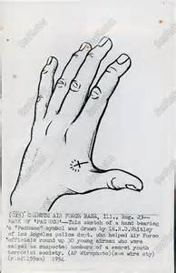 cross tattoo gang symbol s43 1954 hand sketch pachuco gang symbol tattoo cross