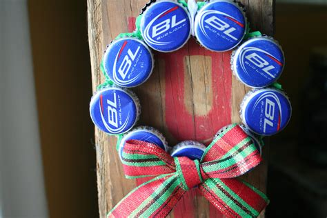 bud light beer bottle cap christmas ornament by tadaworkshop