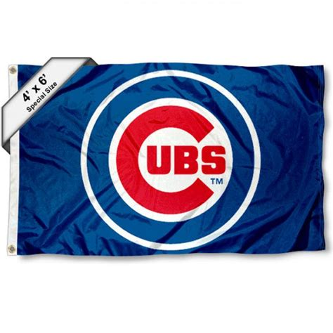 chicago cubs flags sports flags and pennants chicago cubs 4x6 flag and 4x6 foot flags for chicago cubs