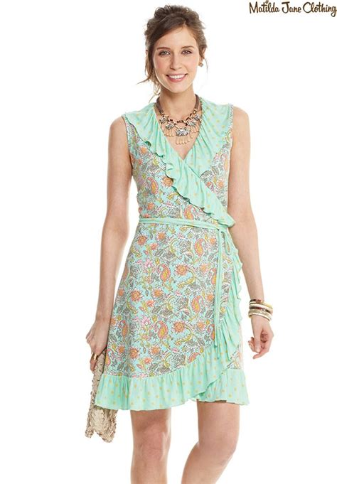 Happiness Warp Dress happy and free summer 2016 wrapped in dress matilda clothing s style