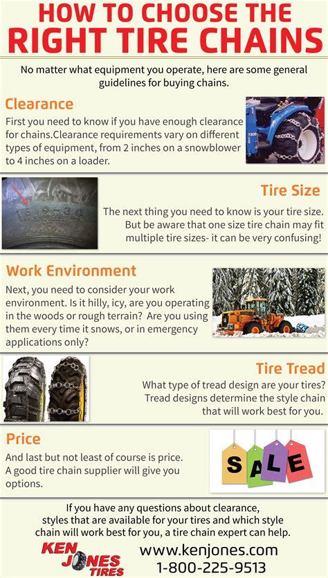 buy tire chains  ken jones tire blog
