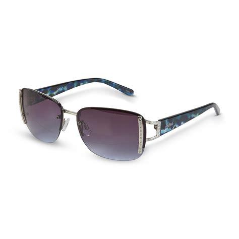 Rimless Aviator Sunglasses southpole s silvertone semi rimless aviator sunglasses