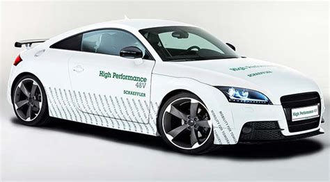 Electric Car Performance Schaeffler Unveils High Performance 48v Concept Vehicle At
