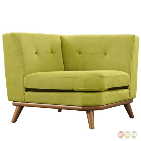 Tufted Sectional Sofa Engage Contemporary 5pc Button Tufted Fabric Sectional Sofa Wheatgrass