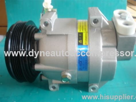 auto air conditioner compressors for car delphi v5 compressor from china manufacturer
