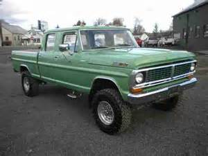 1972 Ford F250 For Sale Find Used 1972 Ford F250 Crew Cab Factory High Boy