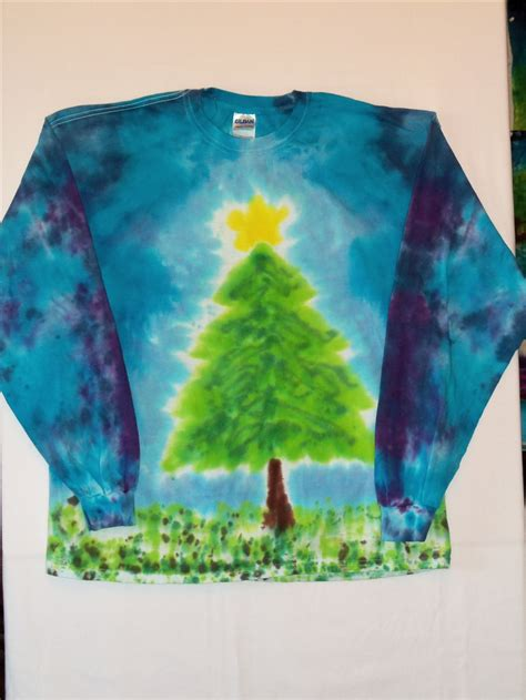 christmas tree tie dye