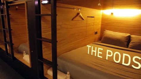 pod singapore  boutique capsule hotel youtube
