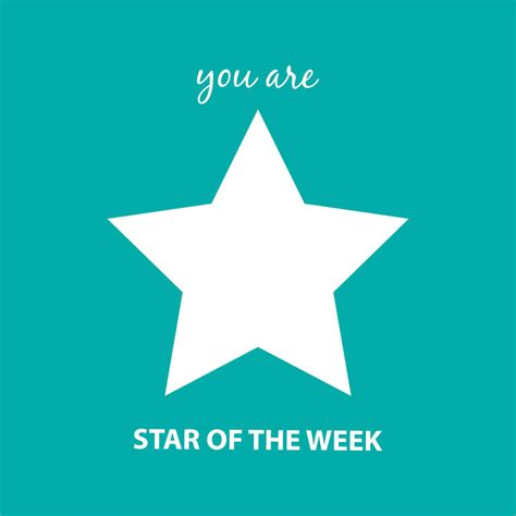 the week of the week card greeting card by a