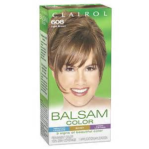 clairol balsam color clairol balsam color liquid permanent haircolor light