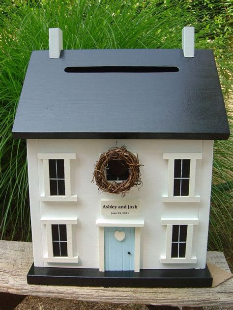 Wedding Card House by A Card Box Shaped Like A House I Weddings