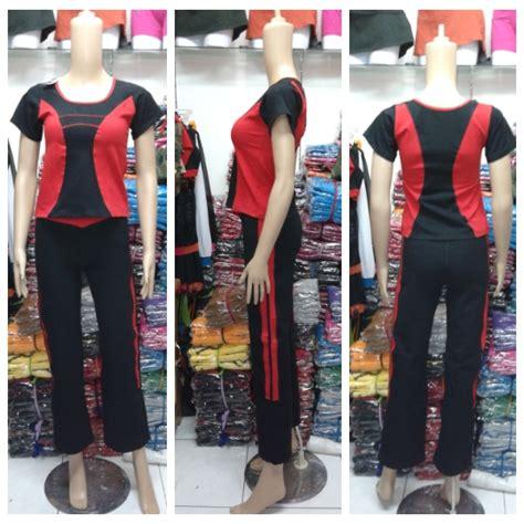 Celana Senam Panjang Rok Cargo jual baju senam ukuran murah baju senam murah grosir