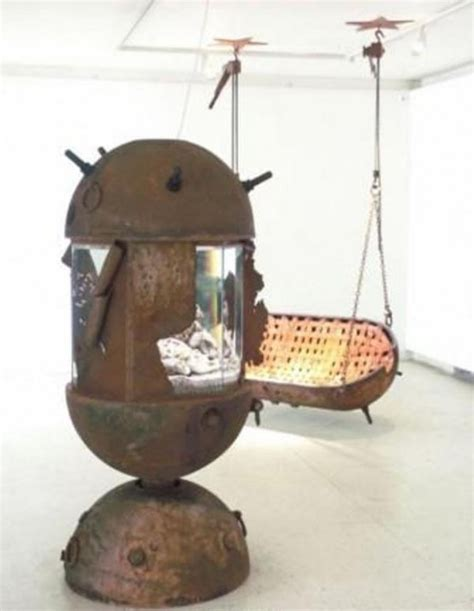 crazy couches crazy but very durable naval mines furniture digsdigs