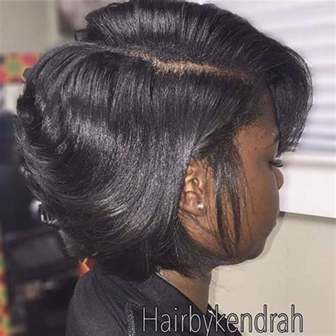 Medium Hairstyles For Black With Relaxed Hair by 1000 Ideas About Relaxed Hairstyles On