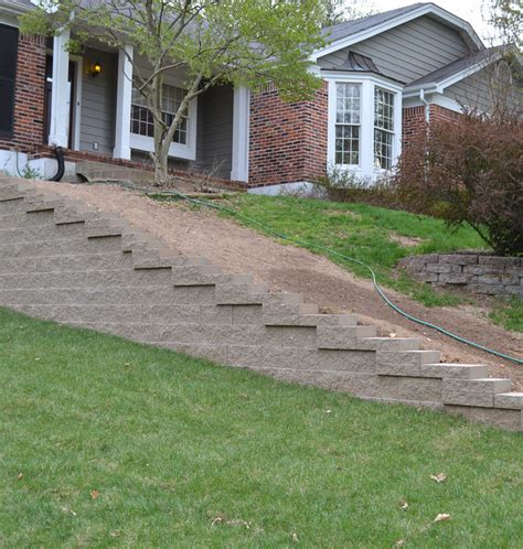 Rockwood Retaining Walls by Rockwood Classic Straightface Retaining Wall Taupe Color