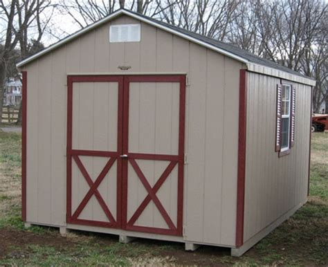 frame wood shed kit