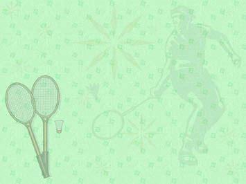 Badminton 08 Powerpoint Templates Badminton Ppt Templates Free