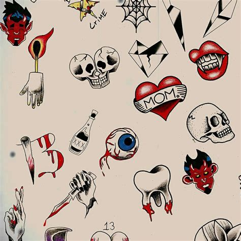 tattoo flash friday the 13th friday the 13th flash sneak peek tattoos pinterest