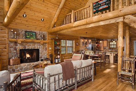 Log Home Interiors Images Shophomexpressions Lake Home Decorating Ideas
