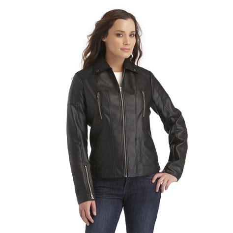 Faux Leather Zip Jacket metaphor s faux leather zip jacket
