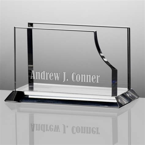 business card holder for desk personalized desktop business card holder