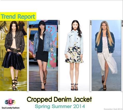 fashion trends spring 2014 pinterest crafts cropped denim jacket fashion trend for spring summer 2014