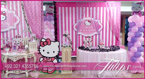 themes for a kitty party pink hello kitty birthday